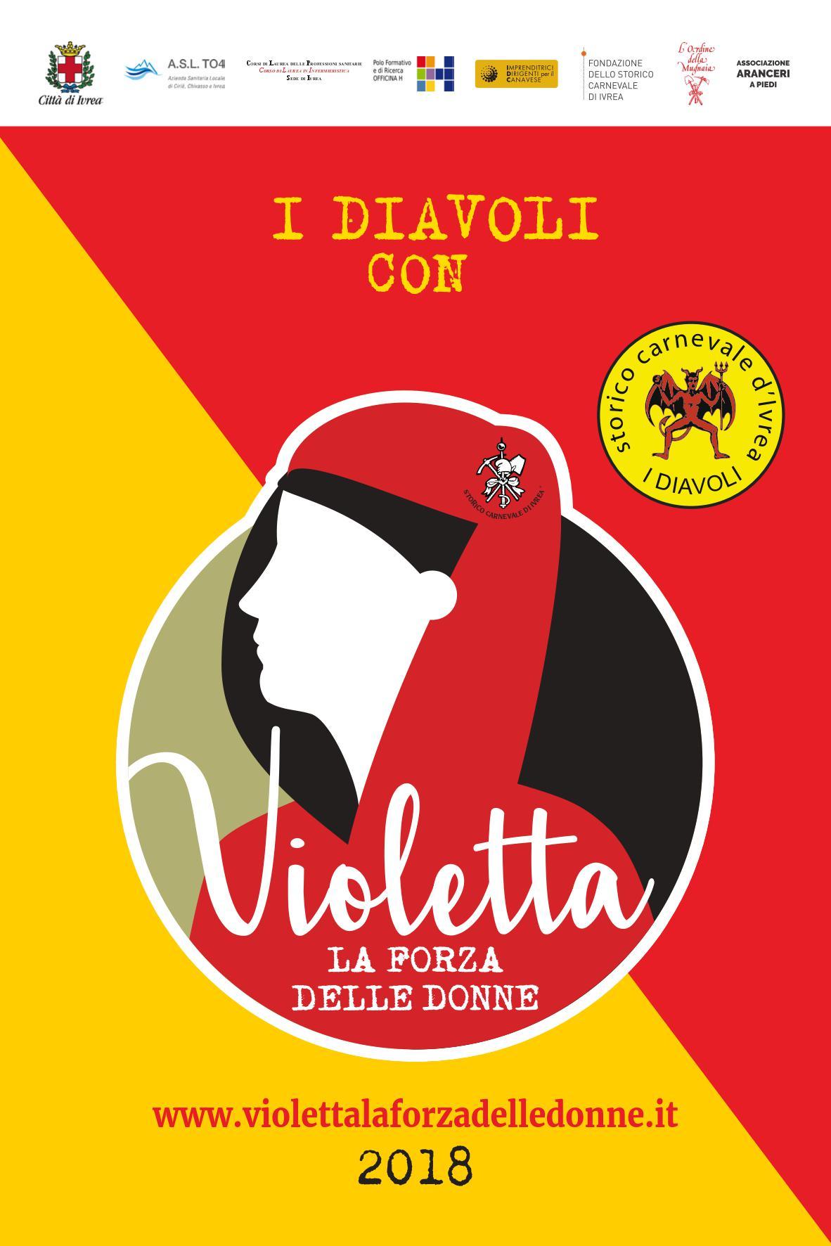 """I DIAVOLI CON """"VIOLETTA – La forza delle donne"""""""