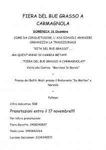 FIERA DEL BUE GRASSO A CARMAGNOLA-1